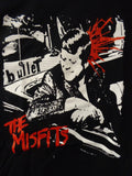 The Misfits bullet black tee with JFK getting shot in the back of the head