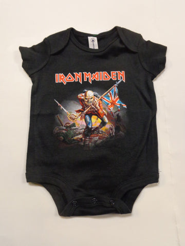 Iron Maiden The Trooper Black Onesie