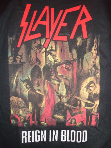 Slayer Reign in Blood black t-shirt