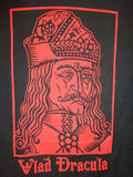 Vlad Dracula mens black tee red print