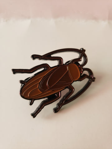 Cockroach enamel pin