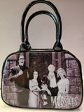 Munsters family portrait handbag