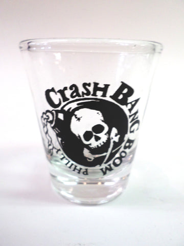 Crash Shot Glass Skull Bomb