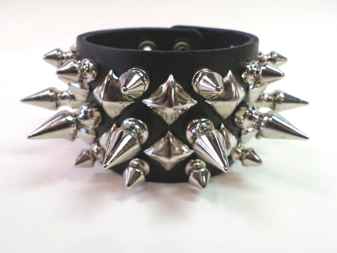Ultimate Spiked Bracelet