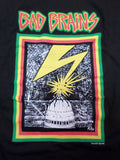 Bad Brains Capitol building black tee with lightning bolt