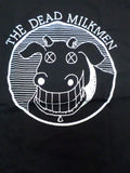 Dead Milkmen black tee with cow logo with xed out eyes