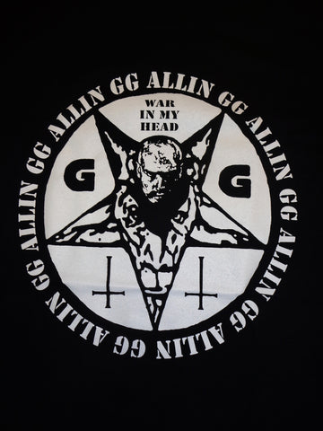 GG Allin War in My Head T-Shirt