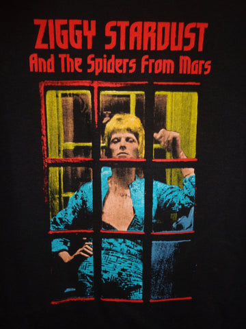 Ziggy Stardust and The Spiders From Mars T-Shirt telephone booth