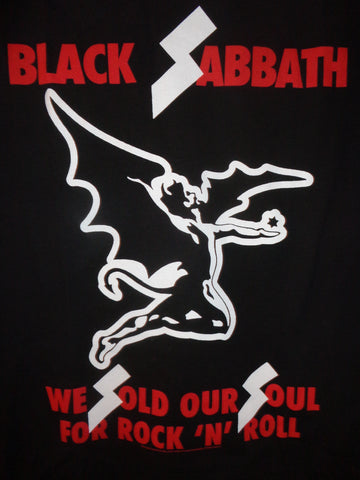 Black Sabbath We Sold Our Soul T-Shirt