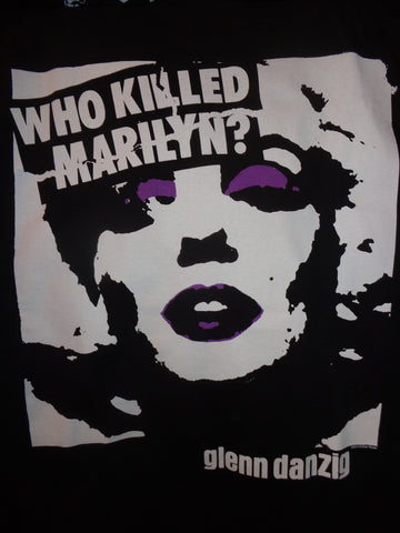 Glenn Danzig who killed marilyn black tee with monroe