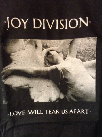 Joy Division Love Will Tear Us Apart black tee