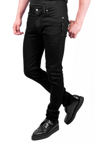 Trash and Vaudeville black trash skinny jeans slim