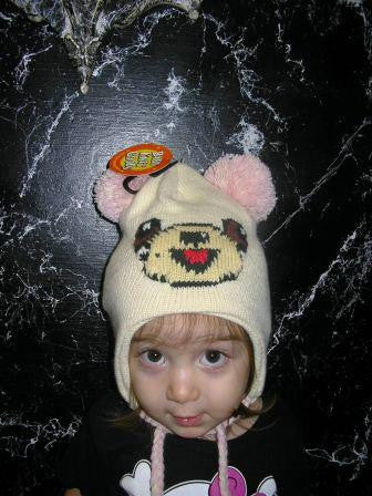 Bear Toddler Pilot Hat