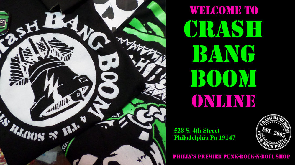 Crash Bang Boom 4th and South Street Philly