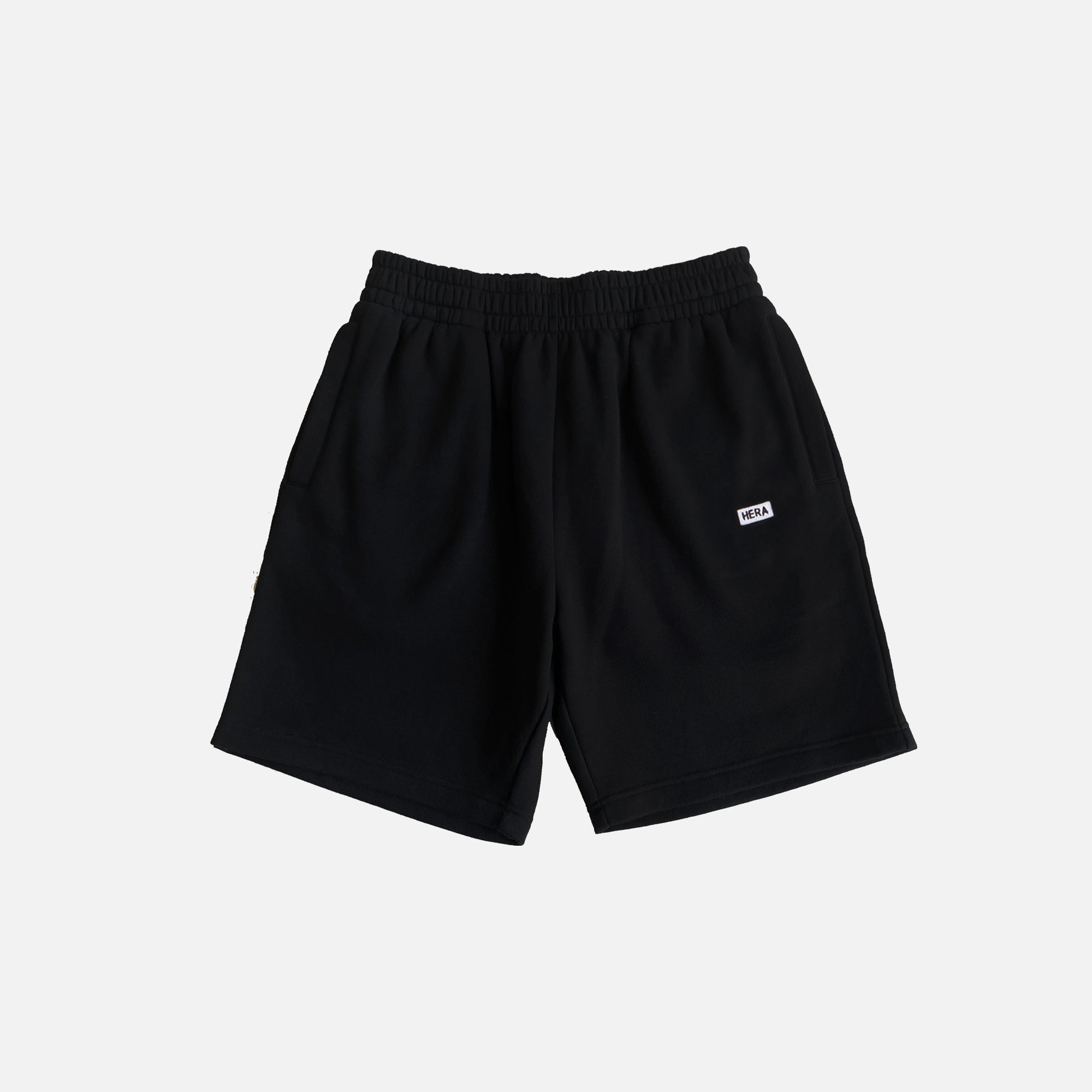 BLACK PREMIUM SWEATSHORTS - WILL BE DESPATCHED ON THE 12TH MAY