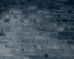 cool blue brick custom background