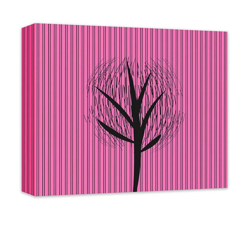 Abstract Tree I Canvas Wall Art - WallLillies