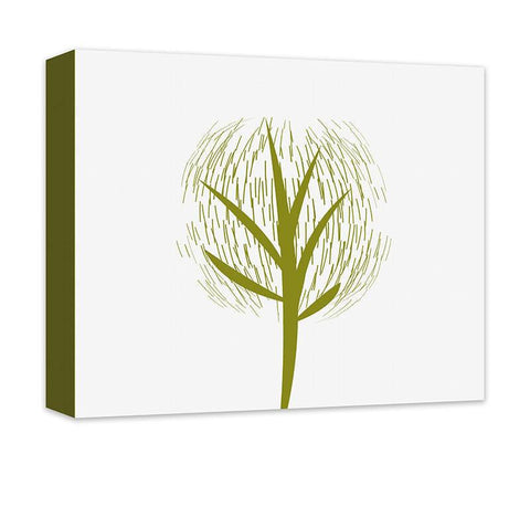 Abstract Tree I Canvas Wall Art