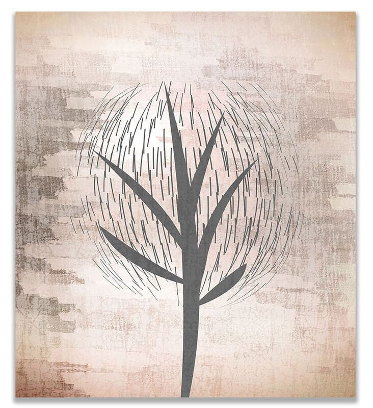 Abstract Tree I Print Wall Art - WallLillies