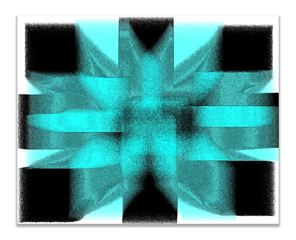 Geometric Energy Abstract II Print Wall Art - WallLillies