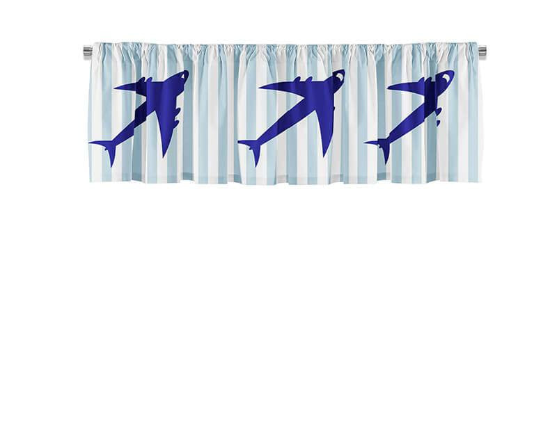 Jet Airplane Valance - WallLillies