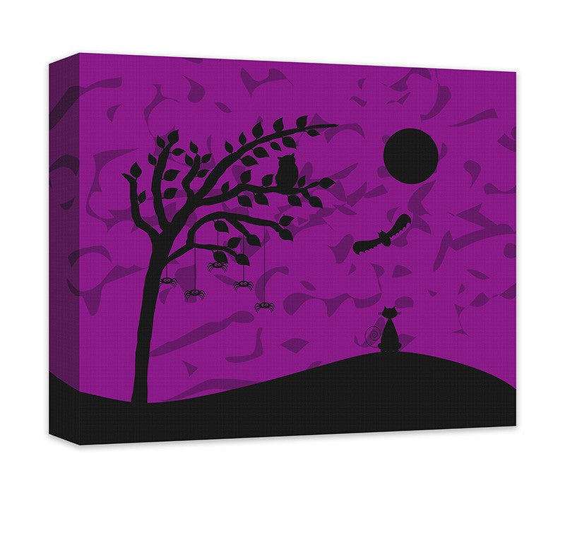 All Hallows Eve Canvas Wall Art - WallLillies