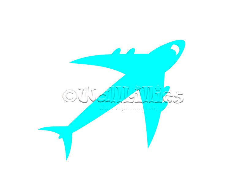 Jet Airplane Decal - WallLillies