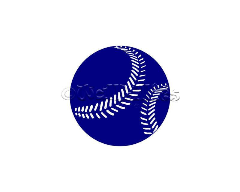 Baseball I Decal - WallLillies