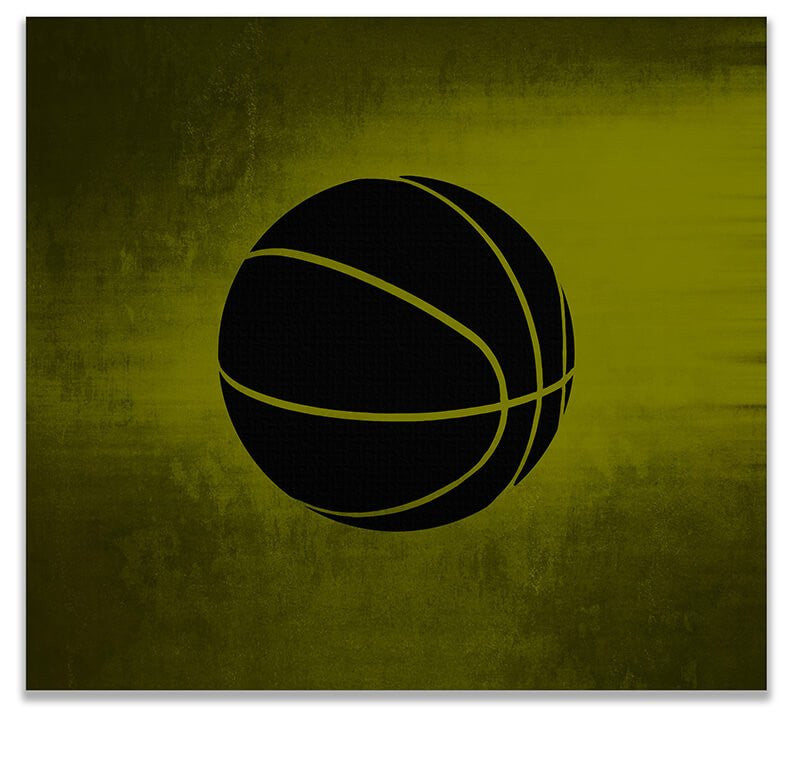Basketball Print Wall Art - WallLillies