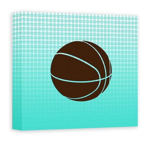 Basketball Canvas Wall Art