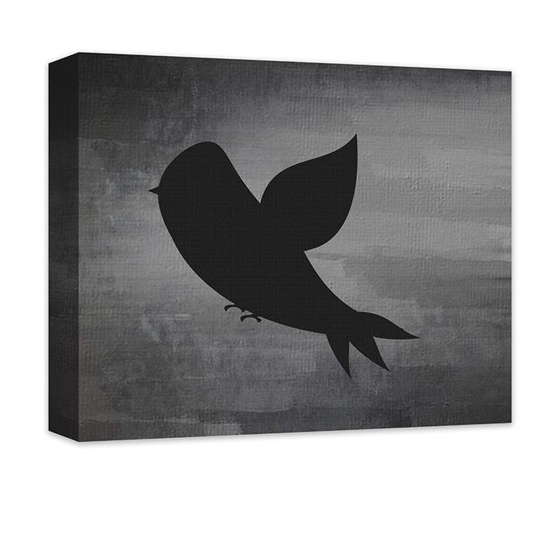 Bird in Flight Canvas Wall Art - WallLillies