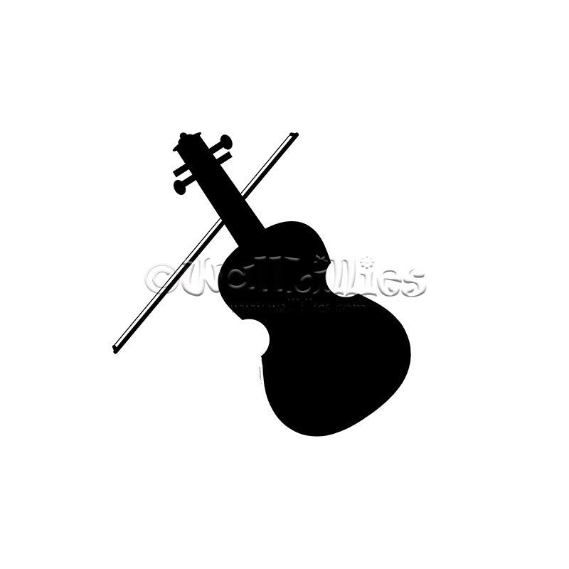 Violin Decal - WallLillies
