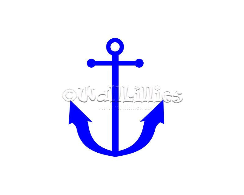 Anchor Decal - WallLillies