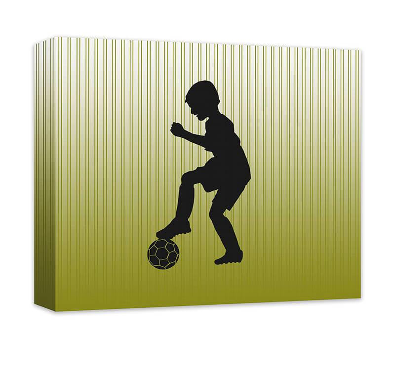 Boy Soccer Moves I Canvas Wall Art