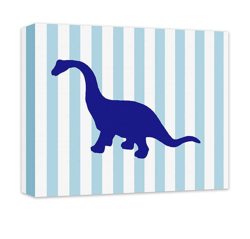 Brachiosaurus Children's Canvas Wall Art - WallLillies