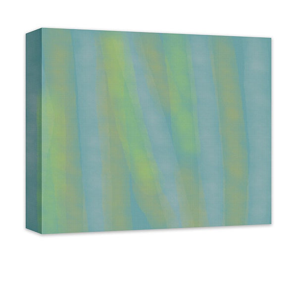 Cascading Rain on Window Abstract Canvas Wall Art - WallLillies