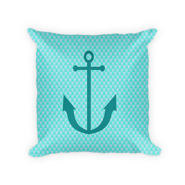 Anchor Children's Woven Cotton Throw Pillow - WallLillies