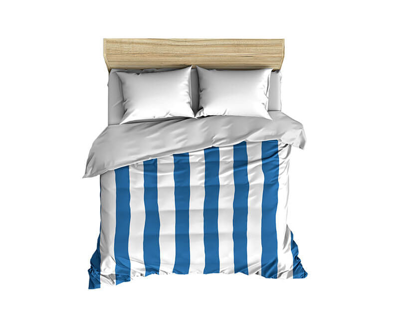 Thick Stripes Pattern Comforter