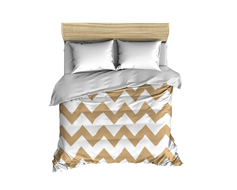 Chevron Large Scale Pattern Comforter - WallLillies