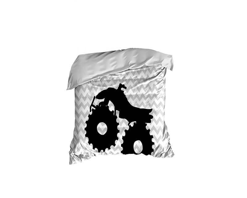 Four Wheeler Crib Comforter - WallLillies