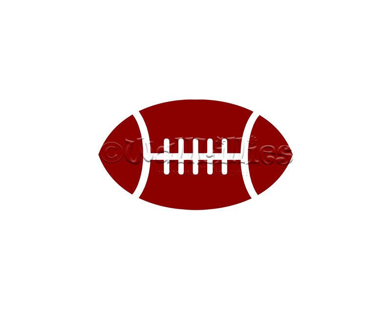 Football Decal - WallLillies