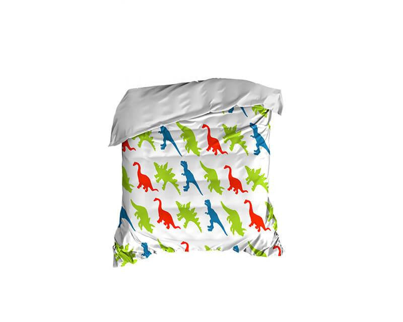 Dinosaur Pattern Crib Comforter - WallLillies