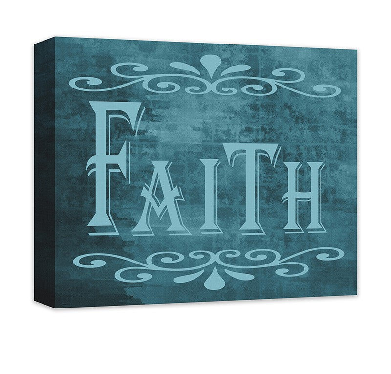 Faith II Canvas Wall Art - WallLillies