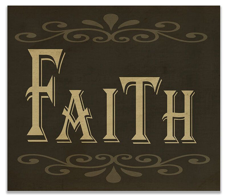 Faith II Print Wall Art - WallLillies