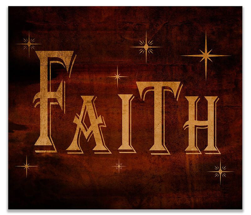 Faith I Print Wall Art - WallLillies