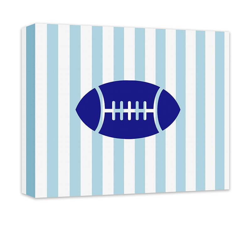 Football Children's Canvas Wall Art - WallLillies