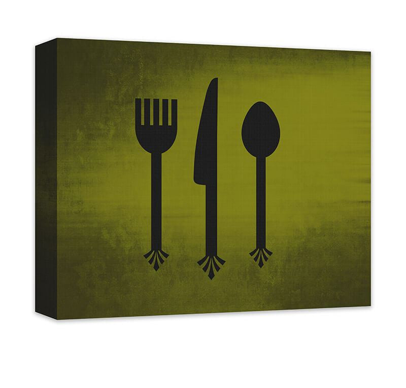 Outstanding Fork Spoon Knife Wall Decor Pattern - Wall Art ...