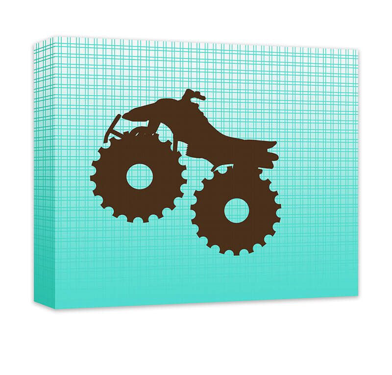 Four Wheeler Canvas and Print Wall Art - WallLillies