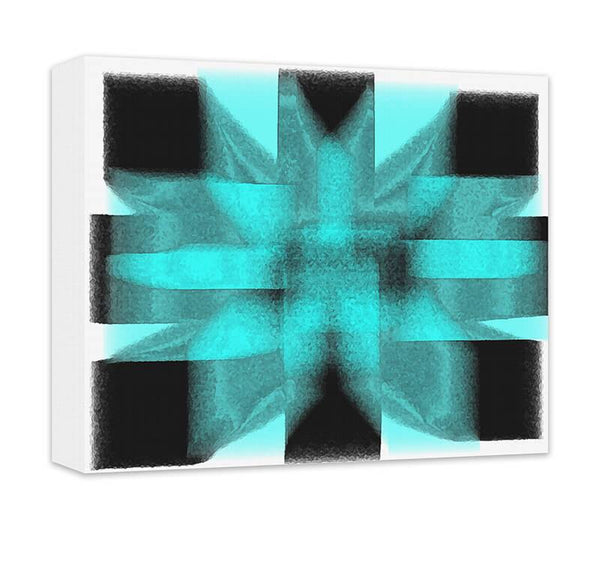 Geometric Energy Abstract II Canvas Wall Art - WallLillies