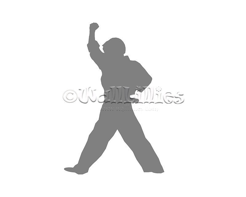 Boy Karate Moves II Decal